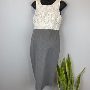 NWT Thyme Maternity crochet/knit Dress